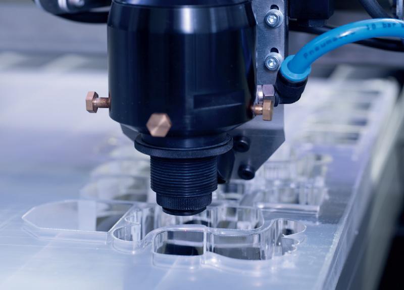 Laserska glava laserskega stroja SP1500