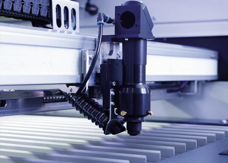 Delovna glava laserskega rezalnika SP1500