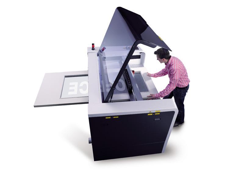 Pass-trough tehnologija za laserski sistem SP500