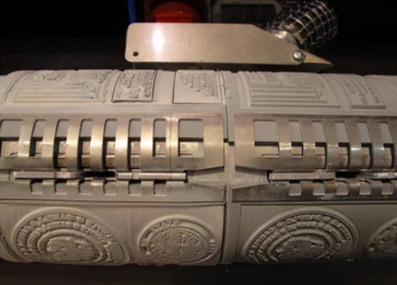 Laserati DT boben za vpenjanje gumijaste pole