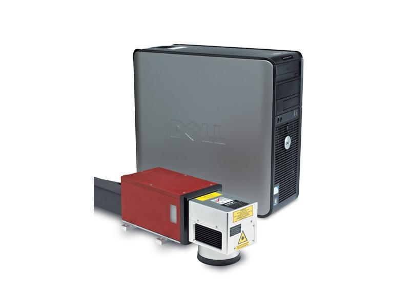 Promarker 100 laserski stroj in računalnik