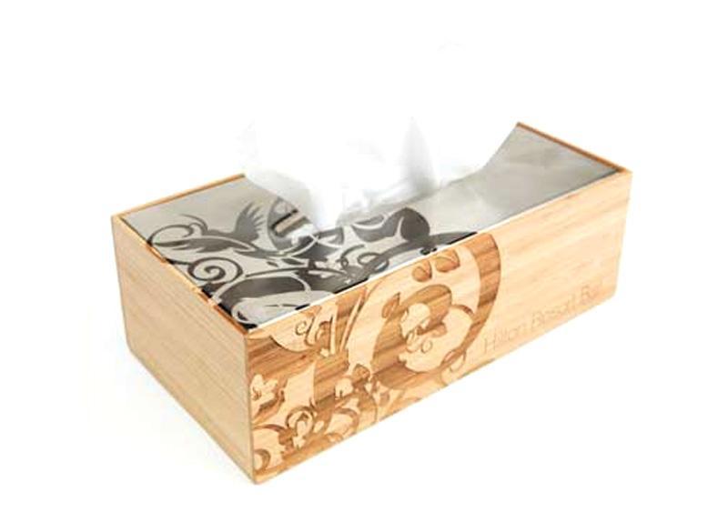 Promocijski izdelek kombinacija lesa in kovine