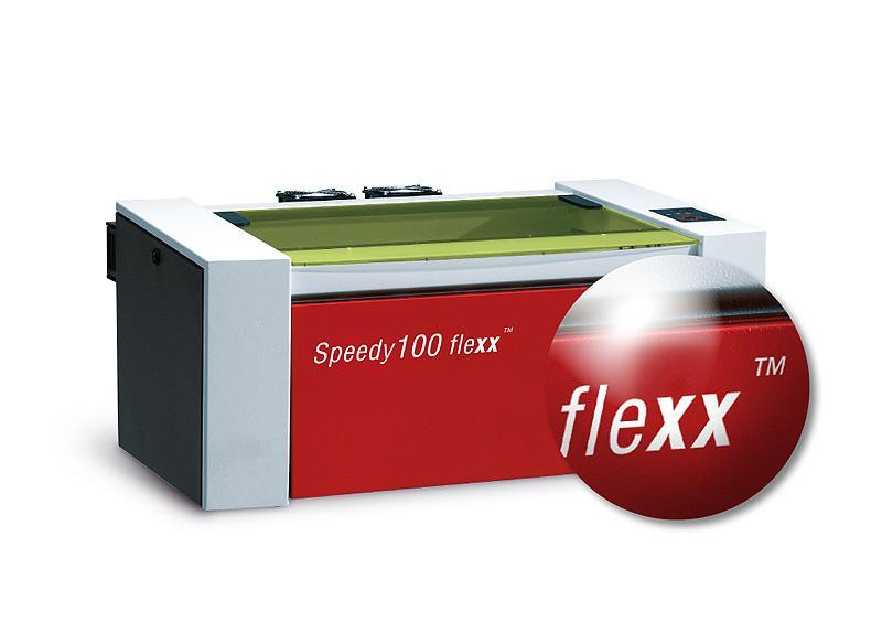 Speedy 100 flexx laser za graviranje