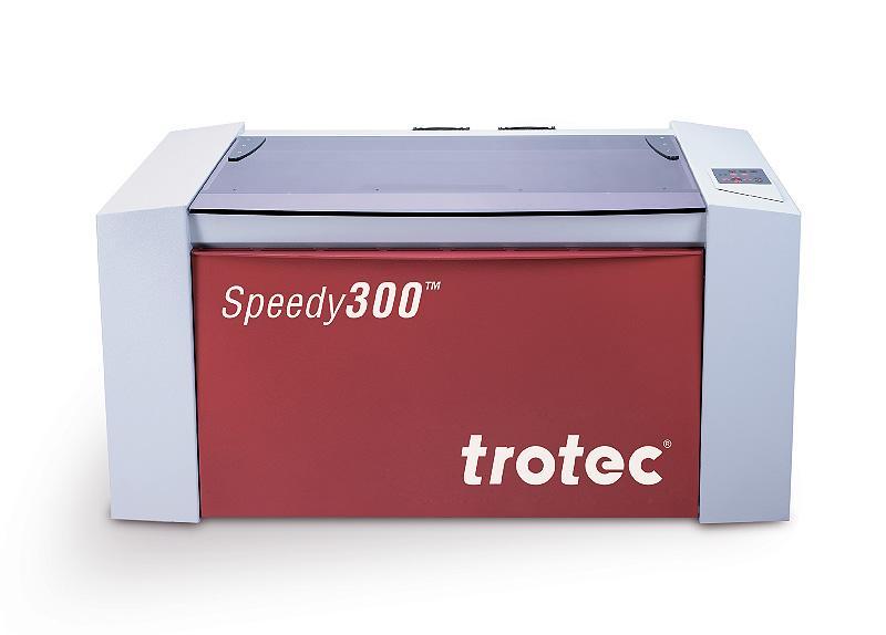 Speedy 300 stroj za lasersko graviranje