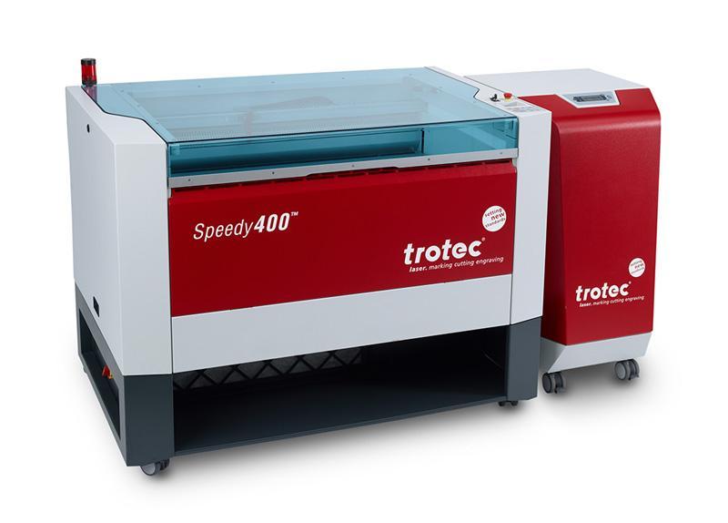 Speedy 400 s Trotec filtrom