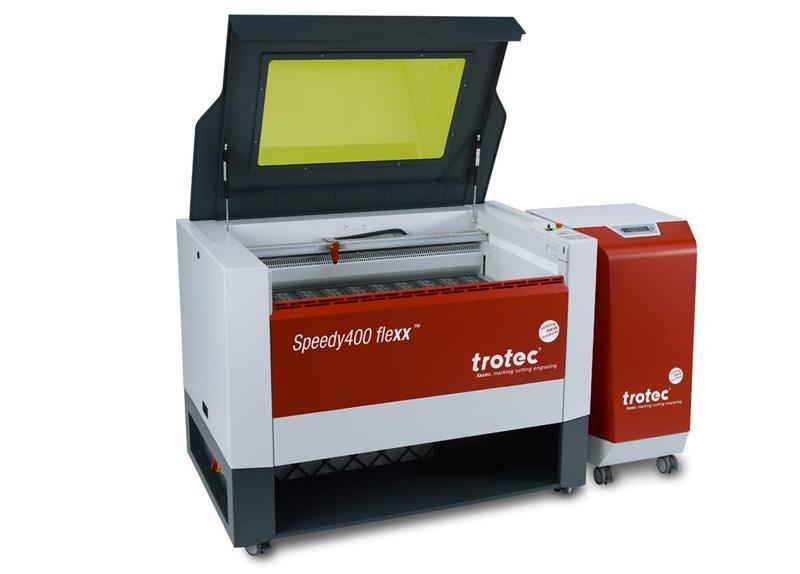 Speedy 400 flexx laser in odsesovalni filtri
