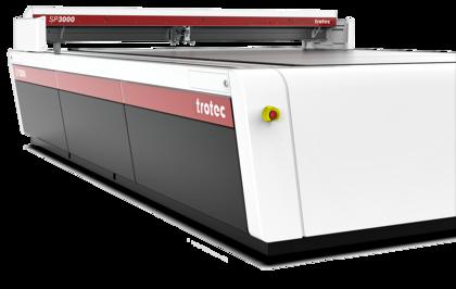 Trotec sp3000 laserski rezalnik