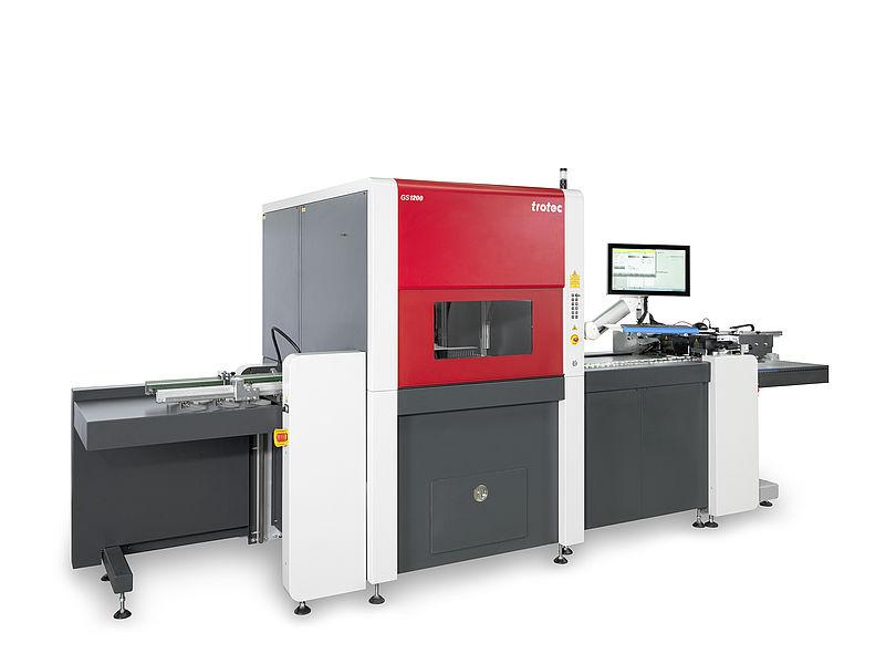 GS1200 laserski sistem za obdelavo papirja