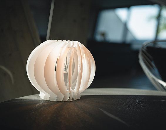Laserski rezrez lampe