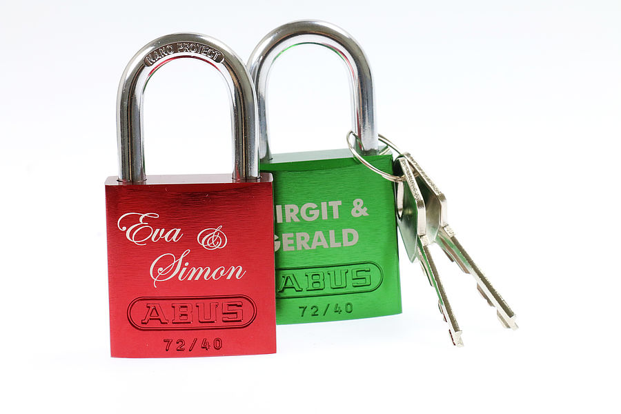 Lasersko označevanje ključavnic