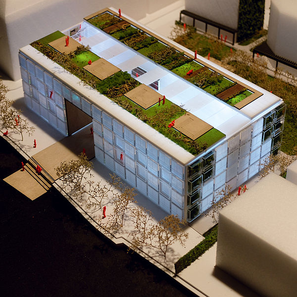 Arhitekturni model Paul de Reiter