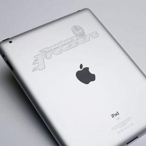 iPad graviranje logotipa