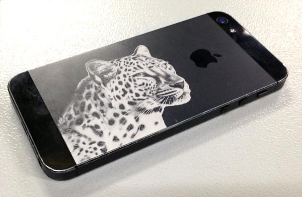 iPhone graviran