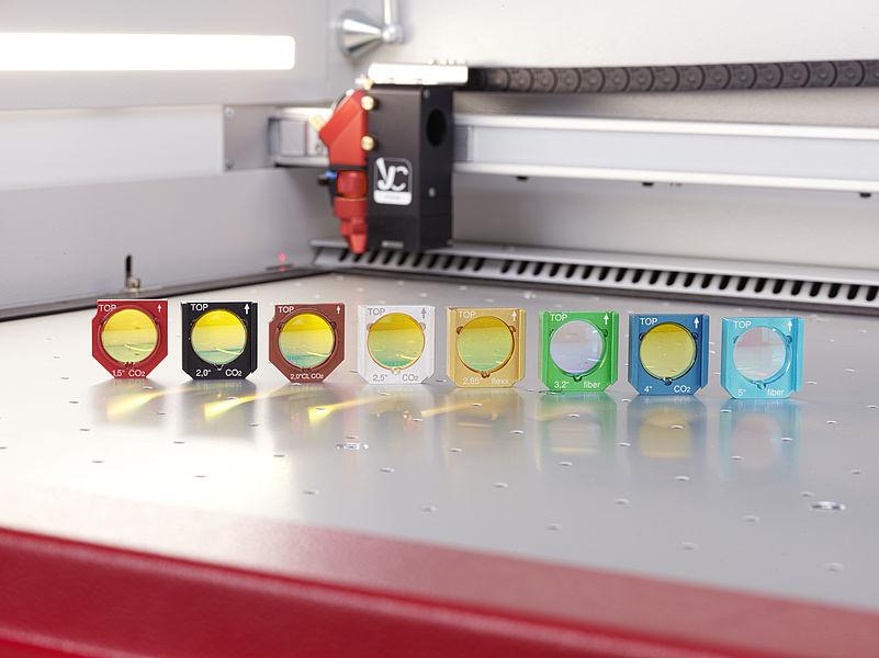 Fokusne leče za laserski stroj trotec