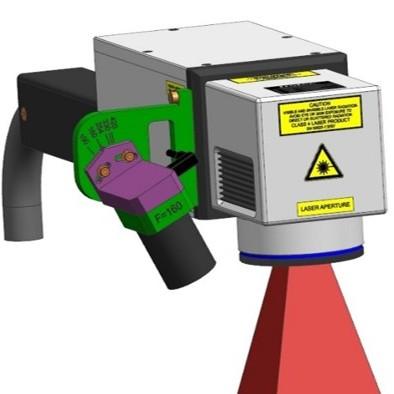 Pozicioniranje laserskega označevanja s pomočjo kamere