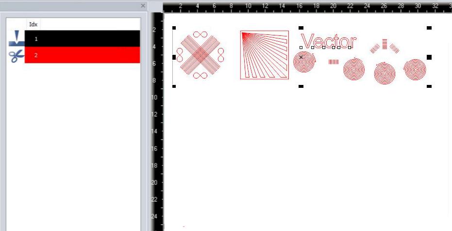 Laserjob z uporabo OptiMotion ™: potreben je le 1 parameter laserskega rezanja