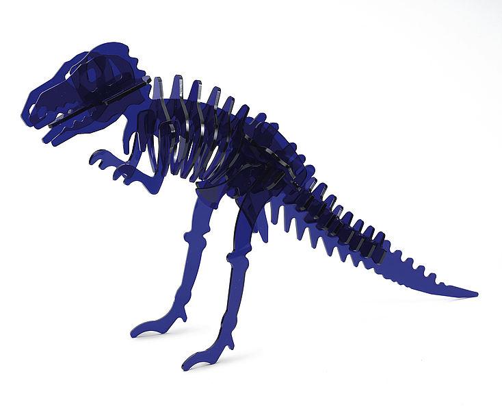 Lasersko izrezan dinozaver iz akrila