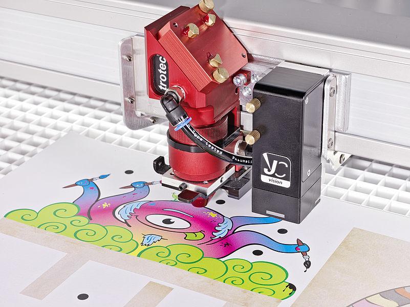 JobControl® Vision: Programska oprema za natančno lasersko obdelavo tiskanih materialov