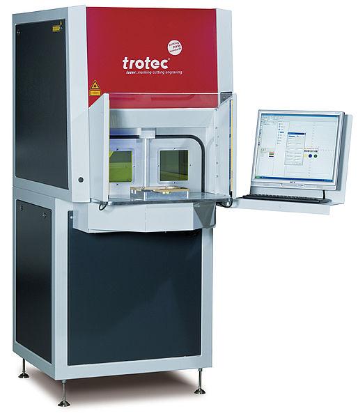 Laserski sistem SpeedMarker 700 RT z vrtljivo mizo