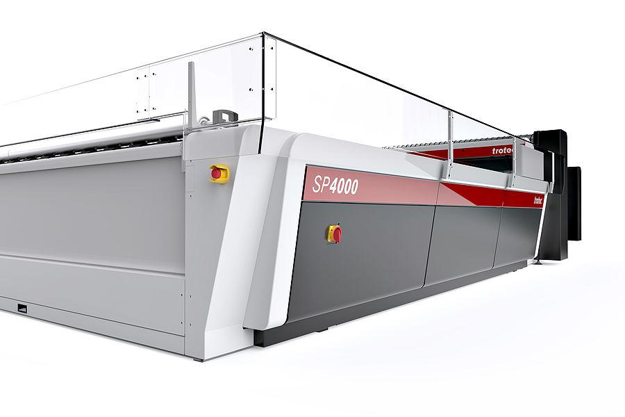 SP4000 z lasersko zaščitno galerijo